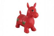 Hopsadlo kôň skákacie gumový červený
