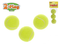Tenisové loptičky 2-Play 6 cm 3 ks