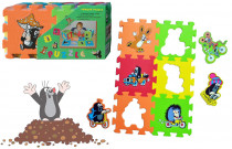 Penové puzzle 15x15 6ks - mix variantov či farieb