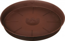 Plastia miska Tulipán - čokoládová 60 cm