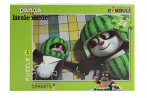 Puzzle Krtko a Panda, 24 dielikov