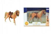 Kôň sa sedlom plast 14cm