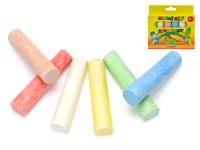 Kriedy chodníkové farebné 6 ks, DITIPO