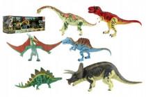 Sada Dinosaurus hýbajúce sa 6ks plast