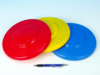 Lietajúci tanier plast priemer 23cm farieb 12m + - mix variantov či farieb
