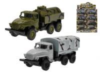Nákladné vozidlo vojenskej kov 12 cm 1:55 spätný chod - mix variantov či farieb
