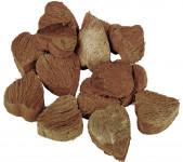 Dekorácia - Kokosové srdce 6 ks