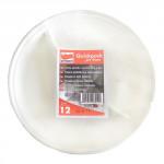 tanier delený 22cm plastový, Bi (12ks) jednorazový