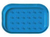 mydelnička obdĺžniková 12,5x9cm plastová - mix farieb