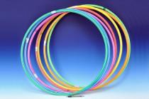 Obruč Hula Hop 70 cm - mix barev