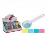 dávkovač na zmrzlinu 19cm silikón / plastový - mix farieb