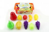 Nákupný košík ovocie / zelenina plast cca 10ks 22cm