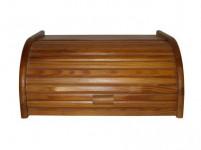 chlebník 39x28x18cm driev. svetlý orech