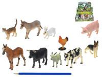 Zvířátka farma plast 5-10,5cm - mix variant či barev