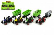Traktor 17cm kov na zpětné natažení - mix variant či barev