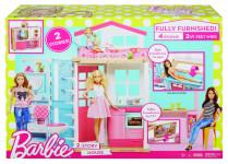 Barbie dům 2v1