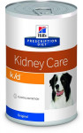Hill's Canine K/D konzerva 370 g