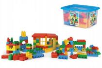 Kocky stavebnice Block plast 132ks Wader v plastovom boxe