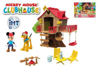 Mickey Mouse stromový domeček na baterie se světlem a zvukem + kloubové figurky