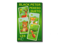 Čierny Peter / Pexeso / Dueto les 3 v1 7x10,5x1,5 cm 31 ks