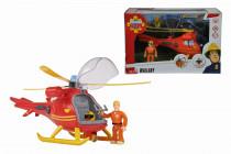 Požiarnik Sam Vrtuľník s figúrkou