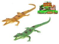 Krokodíl pískací 35 cm - mix farieb