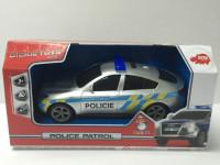 Policejní auto 20 cm, česká verze - mix variant či barev