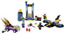 Lego Juniors 10753 Joker útočí na Batcave