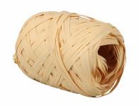 Stuha rafi vajíčko natural šírka 12,5mm dĺžka 20m