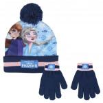 Sada rukavice, čiapka s brmbolcom - Ľadové kráľovstvo 2