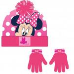 zimné set-čiapky, rukavice Minnie