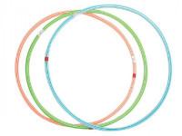 Obruč Hula Hop plast průměr 60cm - mix barev