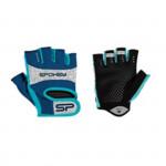 Spokey ELENA II Dámske - Fitness rukavice veľ. L modro-tyrkysové