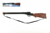 Pištoľ / Puška na kapsule 8 rán kov / plast 65cm