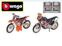 Bburago 1:18 RACE Moto Red Bull KTM - mix variantov či farieb