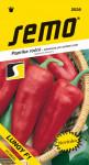 Semo Paprika zeleninová sladká F1 - Lungy F1 na pole aj na rýchlenie 15s