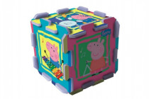 Penové puzzle Peppa Pig