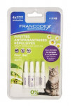 Francodex Pipeta repelentní kočka 4x0,6ml new