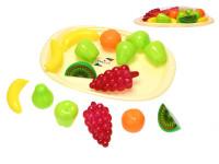 Sada ovocie 15 ks s podnosom 32 cm