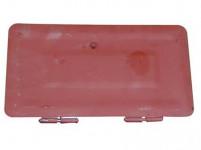 dvierka komínová dvojitá, základná farba, 160x320mm