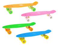 Skateboard 56 cm - mix farieb