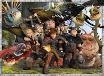 RAVENSBURGER How to Train Your Dragon: Keep your friends close to 300 pieces - VÝPREDAJ
