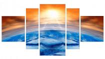 Obrazy Západ slunce nad horizontem 3105 - VÝPREDAJ