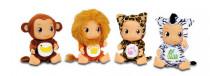 Panenka převlečená za zvířátko z džungle - mix variant či barev