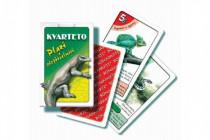Kvarteto Plazi společenská hra karty v papírové krabičce