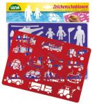 Kresliace šablóny (dopravné prostriedky