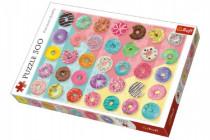 Puzzle Donuts šišky 500 dielikov 48x34cm