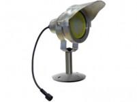 svietidlo LED 10W, 850L, MR30, IP67,3000K, teplé, Al ŠE + tienidlo, zápichy. i přišroubovací