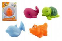 Zvieratko svietiace vo vode plast 8cm na batérie - mix variantov či farieb