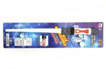Meč svítící plast 57cm na baterie se zvukem